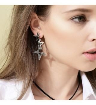 Kemstone Crystal Fragmentary Earrings Fashion