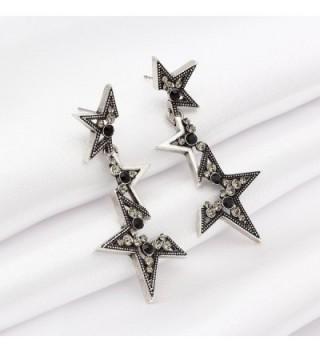 Kemstone Crystal Fragmentary Earrings Fashion in Women's Drop & Dangle Earrings
