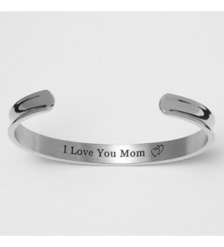 Mothers Bangle Daughter Birthdays Silver