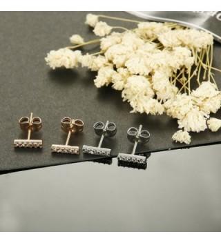 JOERICA Stainless Earrings Cubiod Rose gold