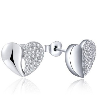 Earrings YL Sterling Zirconia Earrings White Girlfriend - CU12H35GGJP