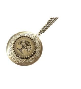 Locket Jewelry Tree of Life Locket Necklace Family Tree Locket - C51285JH5J3