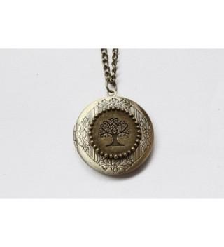 Locket Jewelry Tree Necklace Family in Women's Lockets