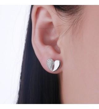 Earrings YL Sterling Zirconia Earrings White Girlfriend