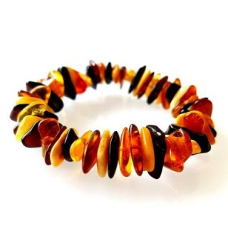 Natural Baltic Amber Bracelet / Anklet for Women / Certified Baltic Amber - CG12JGNBL3D