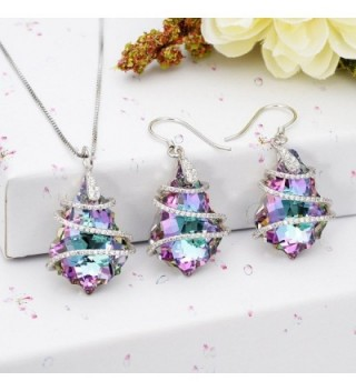 EVER FAITH Sterling Baroque Swarovski in Women's Jewelry Sets