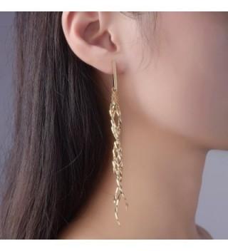 Dangle Earrings Women Fashion Twist