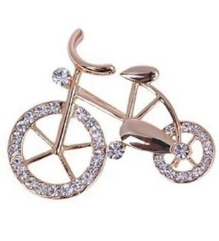 YAZILIND Women Unique Design Bicycle Pins Brooch - CW12E9C6RVR