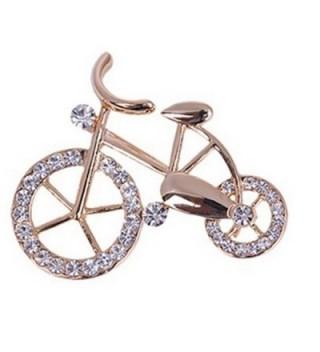 YAZILIND Unique Design Bicycle Brooch