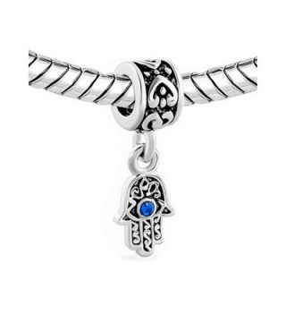 LovelyJewelry Dangle Spacer Bracelet Birthstone