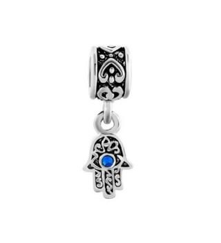 LovelyJewelry Dangle Spacer Bracelet Birthstone in Women's Charms & Charm Bracelets