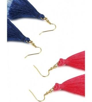 FINREZIO Dangle Tassel Earring Gradient in Women's Drop & Dangle Earrings
