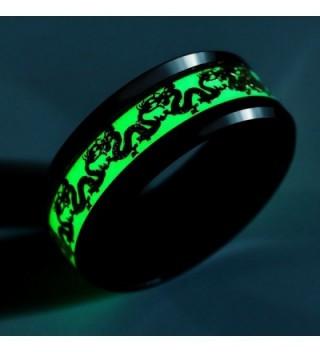 Luminous Effect Stainless Dragon Pattern