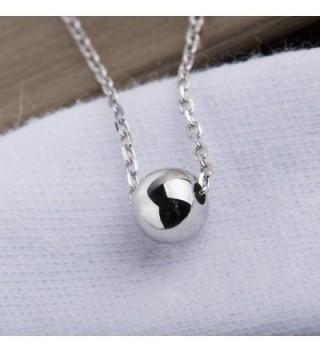 S Leaf Polished Necklace Sterling Pendant in Women's Pendants