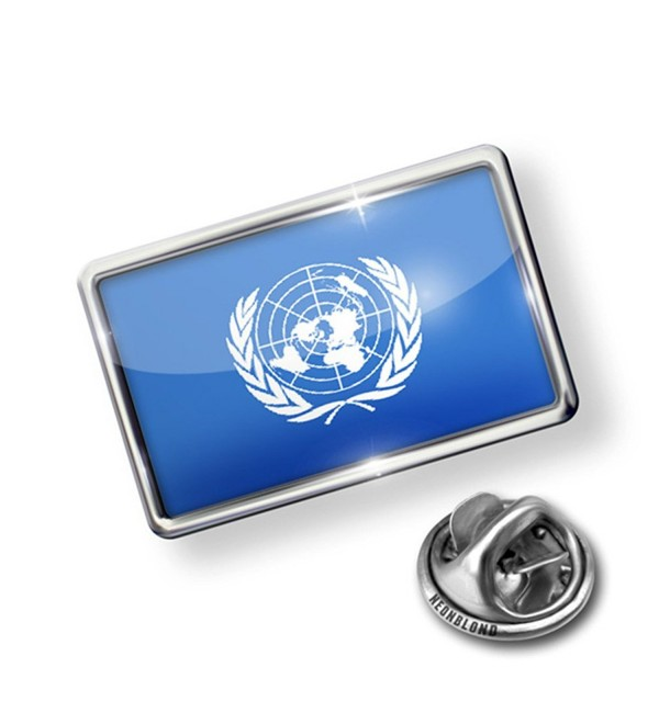Pin United Nations (UN) Flag - Lapel Badge - NEONBLOND - CV110ZQG7KN