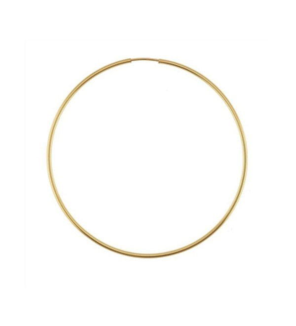 Designs by Nathan- 14K Yellow Gold Filled Seamless Endless Hoop Earrings- 7 Choices - CE12G00NJS5