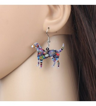 Bonsny Acrylic Earrings Fashion Jewelry