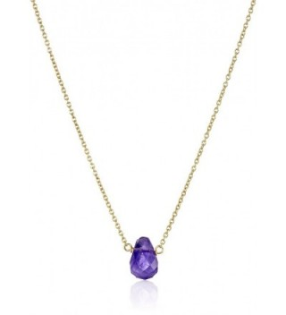 Dogeared Lasting Healing Amethyst Necklace
