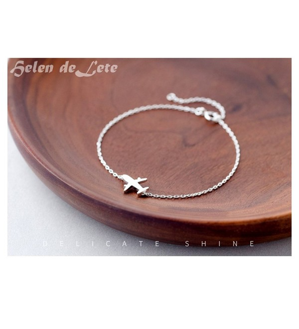 Helen de Lete Simple Style Airplane Fashion Bracelet - CV12N4UJQT7