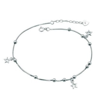 Casa De Novia Jewelry Star Beach Bracelet Ankle Wedding Anklet For Bride Bridesmaids Adjustable - CV182KUXXDX