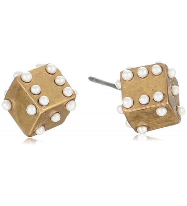 Marc Jacobs Charms Dice Stud Earrings - CN12FLCJQJJ