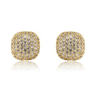 Mia Sarine Zirconia Earrings Sterling