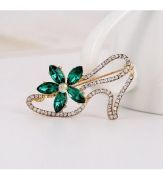 Demarkt Fashion Crystal Flower Brooch