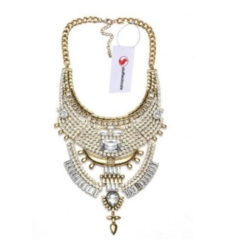 Stuffwholesale Turkish Statement Necklace Marquise in Women's Chain Necklaces