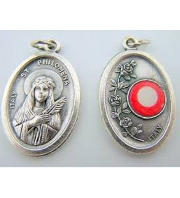 Catholic Patron Saints Oxidized Philomena - C511KGCZGXF