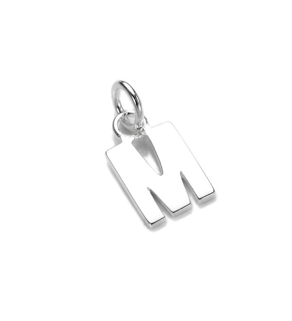 925 Real Sterling Silver Alphabet Letter Charm | Name Initial Charms | ABCs - C011MCYHEIP