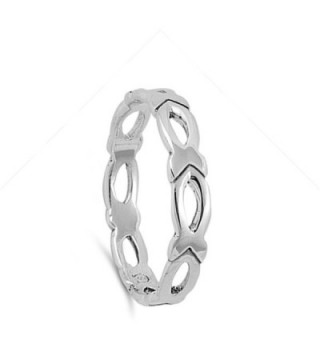 Polish Christian Stackable Sterling Silver