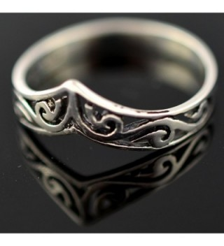 Sterling Silver Celtic Design Unity in Women's Statement Rings