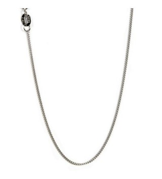 Sterling Diamond Necklace Italian Nickel Free - thickness 1mm - CP182TDTH0E