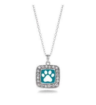 Pretty Classic Silver Crystal Necklace