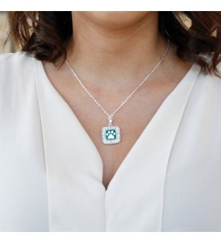 Pretty Classic Silver Crystal Necklace in Women's Chain Necklaces