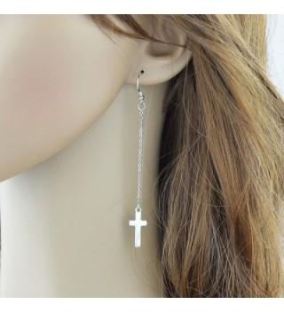 Feelontop Fashion Silver Earrings Jewelry