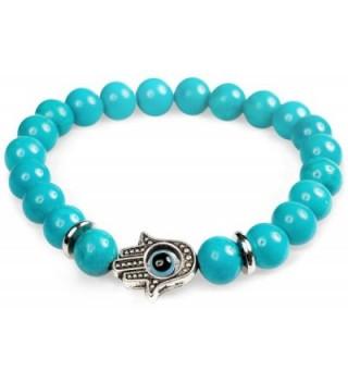Bracelet Yoga Spiritual bracelet Chakra - Turquoise Bracelet - CG12JDCLZZV