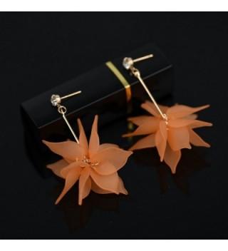Miraculous Garden Zirconia Earrings Pendant in Women's Drop & Dangle Earrings