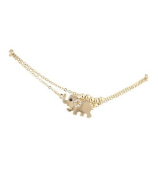 Lux Accessories Elephant Animal Novelty
