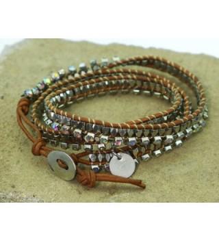 Standing Goose Armorhead Beaded Bracelet in Women's Wrap Bracelets