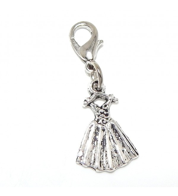 "Pro Jewelry Clip-on ""Dress"" Charm Dangling - CQ11LZVXZRP"