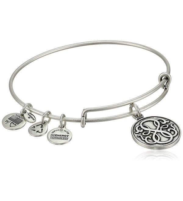 Alex and Ani Bangle Bar Path of Life Rafaelian Expandable Bracelet - Rafaelian Silver Finish - CL118VNE0HT