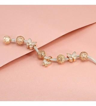 b449d7811 Glamulet 925 Sterling Silver Flower Bouquet Charm Fits Pandora Bracelet -  Rose Gold - CL12CFWTUL7; Glamulet Jewelry Flower Bouquet Sterling ...