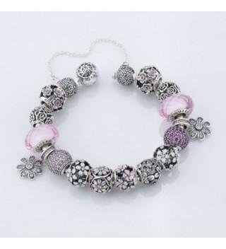 925 Sterling Silver Flower Bouquet Charm Fits Pandora Bracelet Rose Gold Cl12cfwtul7