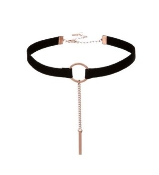 Barch Gothic Tattoo Black Velvet Choker Necklace Adjustable Neck for Women - A-Common Pack(without box) - CV1836ENW7I