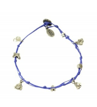 Meditation Anklet Silver Plated Luck