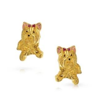 Bling Jewelry Yorkshire Terrier earrings