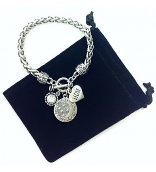 Love Moon Heart Charm Bracelet