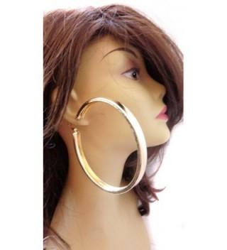 Large Inch Hoop Earrings Thick in Women's Hoop Earrings