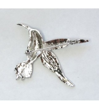 Faship Gorgeous Emerald Hummingbird Brooch in Women's Brooches & Pins